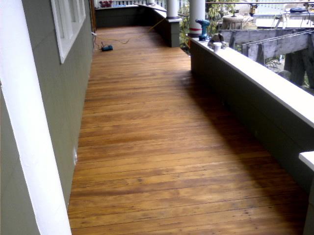 Photo of Recycled Fir Porch